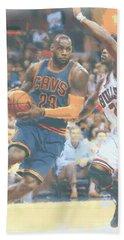 Cleveland Cavaliers Lebron James 2 Hand Towel