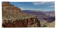 Cliffs In The Grand Canyon Bath Towel