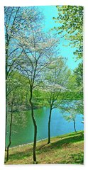 Cluster Of Dowood Trees Hand Towel