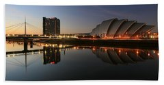 Clydeside Reflections  Hand Towel