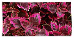 Coleus Bath Towel
