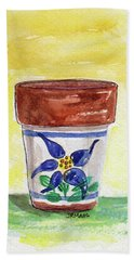 Columbine Container Bath Towel