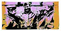 Comradeship Hand Towel by Gary Grayson