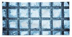 Concrete Background Bath Towel