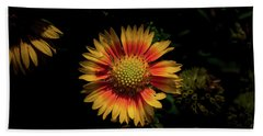 Bath Towel featuring the photograph Coneflower by Jay Stockhaus