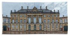 Hand Towel featuring the photograph Copenhagen Amalienborg Palace by Antony McAulay