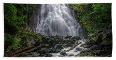 Crabtree Falls North Carolina Hand Towel