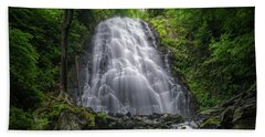 Crabtree Falls North Carolina Bath Towel