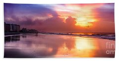 Crescent Beach September Morning Bath Towel