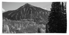 Crested Butte In Autumn Hand Towel