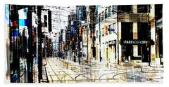 Crossing Spadina Bath Towel by Nicky Jameson