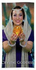 Crystal Goddess Hand Towel