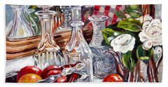 Crystal Reflections Hand Towel