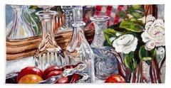 Crystal Reflections Bath Towel by Alexandra Maria Ethlyn Cheshire