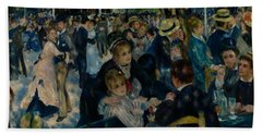 Dance At Le Moulin De La Galette  Hand Towel