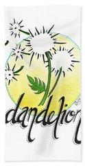 Dandelion Hand Towel