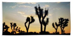 Joshua Tree National Park Bath Towels