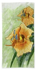 Daylily #2 Hand Towel