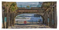 Daytona Beach Bath Towel