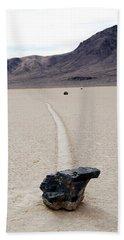 Death Valley Racetrack Bath Towel