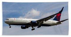 Delta Airlines Boeing 767 Bath Towel