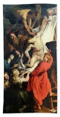 Descent From The Cross Hand Towel