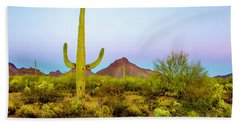 Desert Beauty Bath Towel by Barbara Manis