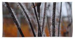 Dewdrops Hand Towel by Kathryn Meyer