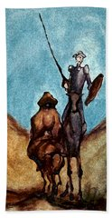 Don Quixote  Hand Towel