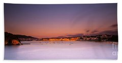 Bath Towel featuring the photograph Donostia San Sebastian  by Mariusz Czajkowski