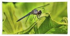 Dragonfly Bath Towel