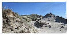 Dunes In The Noordhollandse Duinreservaat Bath Towel