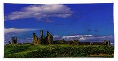 Dunstanburgh Castle Bath Towel