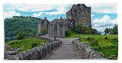 Eilean Donan Castle - -sct665549 Bath Towel