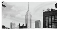 Empire State Building Hand Towel