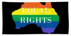 Equal Rights Australia Hand Towel