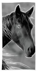 Hand Towel featuring the photograph Equine  by Steve McKinzie