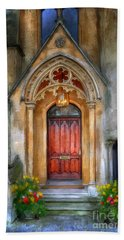 Evensong Hand Towel by Lois Bryan