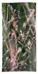 Fairies In The Grass - Bath Towel