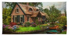Fairytale House. Giethoorn. Venice Of The North Bath Towel