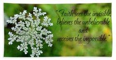 Faith Sees Hand Towel