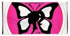 Hand Towel featuring the digital art Female Comics Of Hawaii by Erika Swartzkopf
