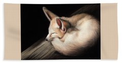 Fennec Fox Bath Towel