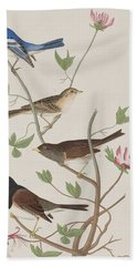 Finches Hand Towel