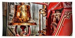 Fireman - The Fire Bell Bath Towel