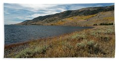Fish Lake Ut Hand Towel by Cindy Murphy - NightVisions