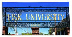 Fisk University Nashville Bath Towel