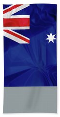 Flag Of Australia Bath Towel