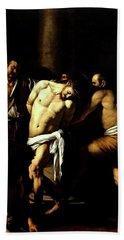 Flagellation Of Christ Hand Towel