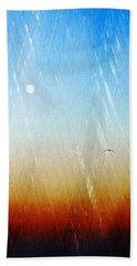 Flight Bath Towel by Allen Beilschmidt